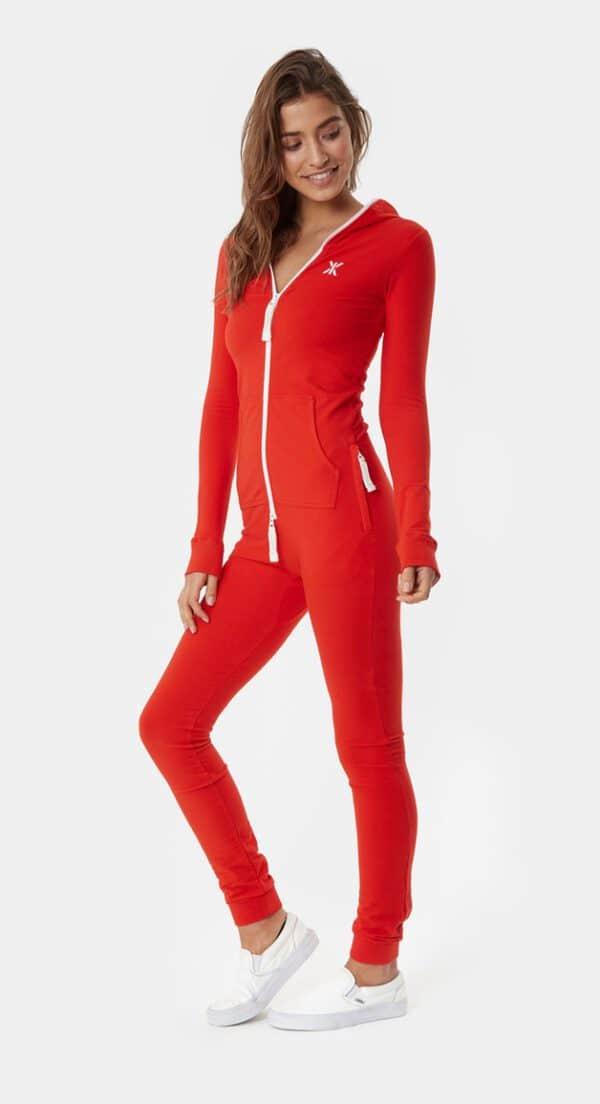 OnePiece original Slim Onesie Jumpsuit Red