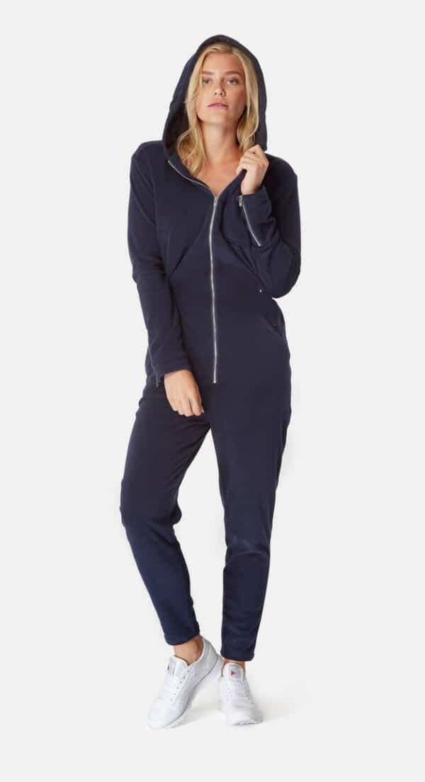 OnePiece Terry Churchill Onesie Jumpsuit Dark Blue Blau